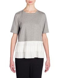 Marni Pleated Colorblock Tee