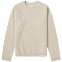 Norse Projects Sigfred Lambswool Crew Knit Neutrals