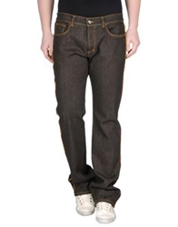 Etro Denim Pants Dark Brown