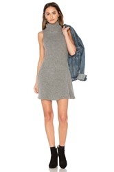 J.O.A. Sleeveless Sweater Dress Gray