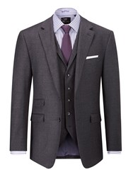 Skopes Men's Provence Wool And Cashmere Suit Jacket Charcoal