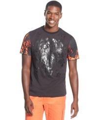 Sean John Notorious Football Graphic T Shirt Obsidian