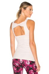 Beyond Yoga X Kate Spade Cinched Bow Tank Pink