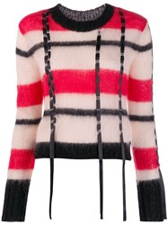 3.1 Phillip Lim Striped Jumper Red