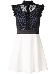 Loveless Lace Top Dress Black