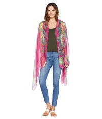 Collection Xiix Tropical Orchid Wrap Pink Multi Clothing