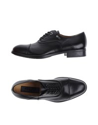 Cesare Paciotti 4Us Footwear Lace Up Shoes Men Black