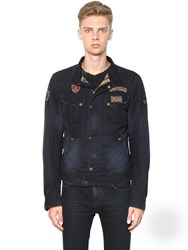Matchless London Viney Rebel Waxed Cotton Blouson Jacket