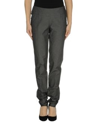 Oblique Casual Pants Dark Blue
