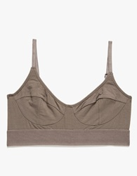 Base Range Soft Bra In Taupe