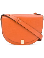 Victoria Beckham Half Moon Bag Orange