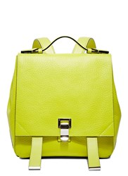 Pre Ss16 Proenza Schouler Pebbled Courier Backpack