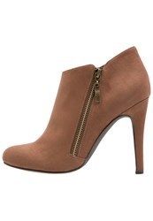 Anna Field Ankle Boots Dark Brown Light Brown