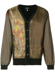 Jean Paul Gaultier Vintage Embroidered Buttoned Jacket Brown