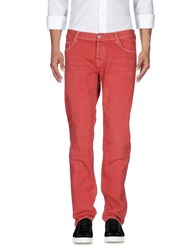Care Label Jeans Brick Red