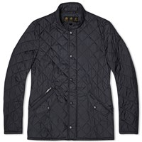 Barbour Flyweight Chelsea Quilt Jacket Black