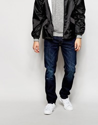 Bellfield Washed Indigo Jeans In Slim Fit