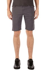 J Brand Eli Cut Off Shorts Keckley Soot
