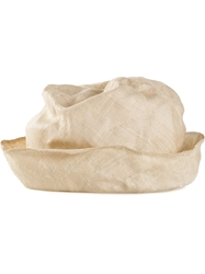 Reinhard Plank Distressed Hat Nude And Neutrals