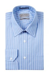 John W. Nordstrom Oxford Traditional Fit Dress Shirt Blue