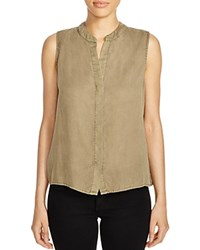 Prive Sleeveless Top Military
