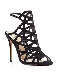 Vince Camuto Kristina Caged High Heel Sandals Black