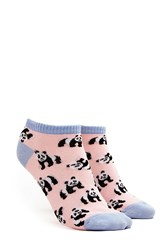 Forever 21 Panda Patterned Ankle Socks