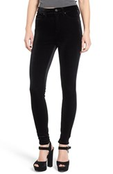 Blank Nyc Women's Blanknyc Velvet High Rise Skinny Jeans The New Black