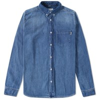 Carhartt Civil Denim Shirt Blue