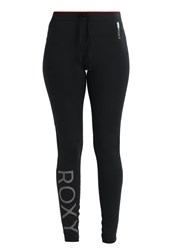 Roxy Stay On Tights Anthracite Black