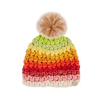 Mischa Lampert Deep Striped Wool Beanie Multi
