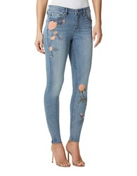 Miraclebody Jeans Faith Embroidered Skinny Fit Denim Pants Valhalla
