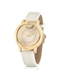 Just Cavalli Spire Jc Stanless Steel Women's Watch White
