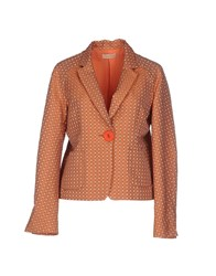 Maesta Suits And Jackets Blazers Women Rust