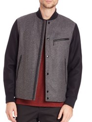 Rag And Bone Irving Wool Varsity Jacket