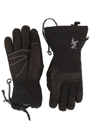 Arc'teryx Fission Sv Nylon Gloves Black