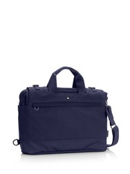 C6 Double Zip Laptop Bag Blue