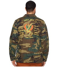 Alpha Industries Dragon Tour Field Coat Woodland Camo Coat Multi