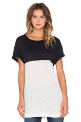 Craft And Commerce Colorblock Tee Black And White