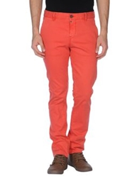 Pepe Jeans Casual Pants Red