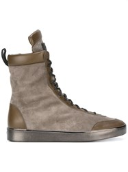 Giuseppe Zanotti Design Hi Top Sneakers Brown