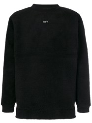 Off White 'Seeing Things' Sweater Men Cotton Acrylic Polyester M Black
