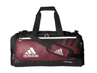 Adidas Team Issue Medium Duffel Maroon Duffel Bags Red