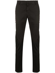 Dondup Gaubert Slim Fit Trousers Black