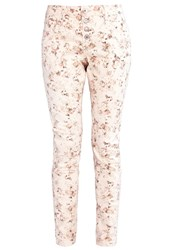 Cream Daniela Slim Fit Jeans Pink Tint Rose