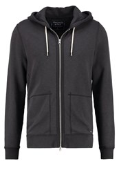 Abercrombie And Fitch Tracksuit Top Flat Dark Grey Anthracite