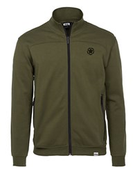Jeep Fleece Zip Up Green