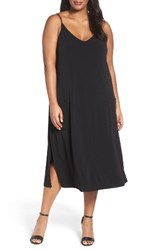 Sejour Plus Size Women's A Line Jersey Dress