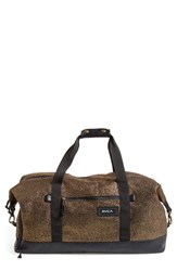 Junior Women's Rvca 'Away Away' Metallic Duffel