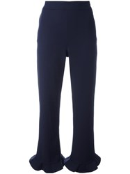 Opening Ceremony Cropped Trousers Blue